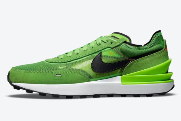 "Nike Waffle One ""Electric Green"" 2021 New Arrival DA7995-300"