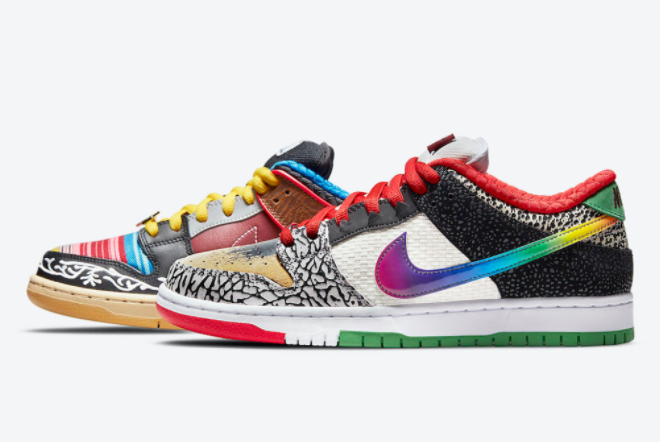 """Nike SB Dunk Low """"What The P-Rod"""" 2021 New Arrival CZ2239-600"""