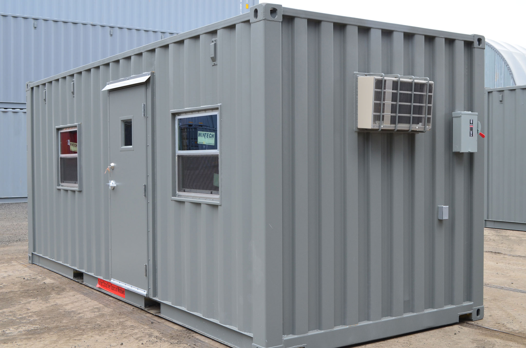 Mobile Office Containers: Shipping Container Offices - Interport